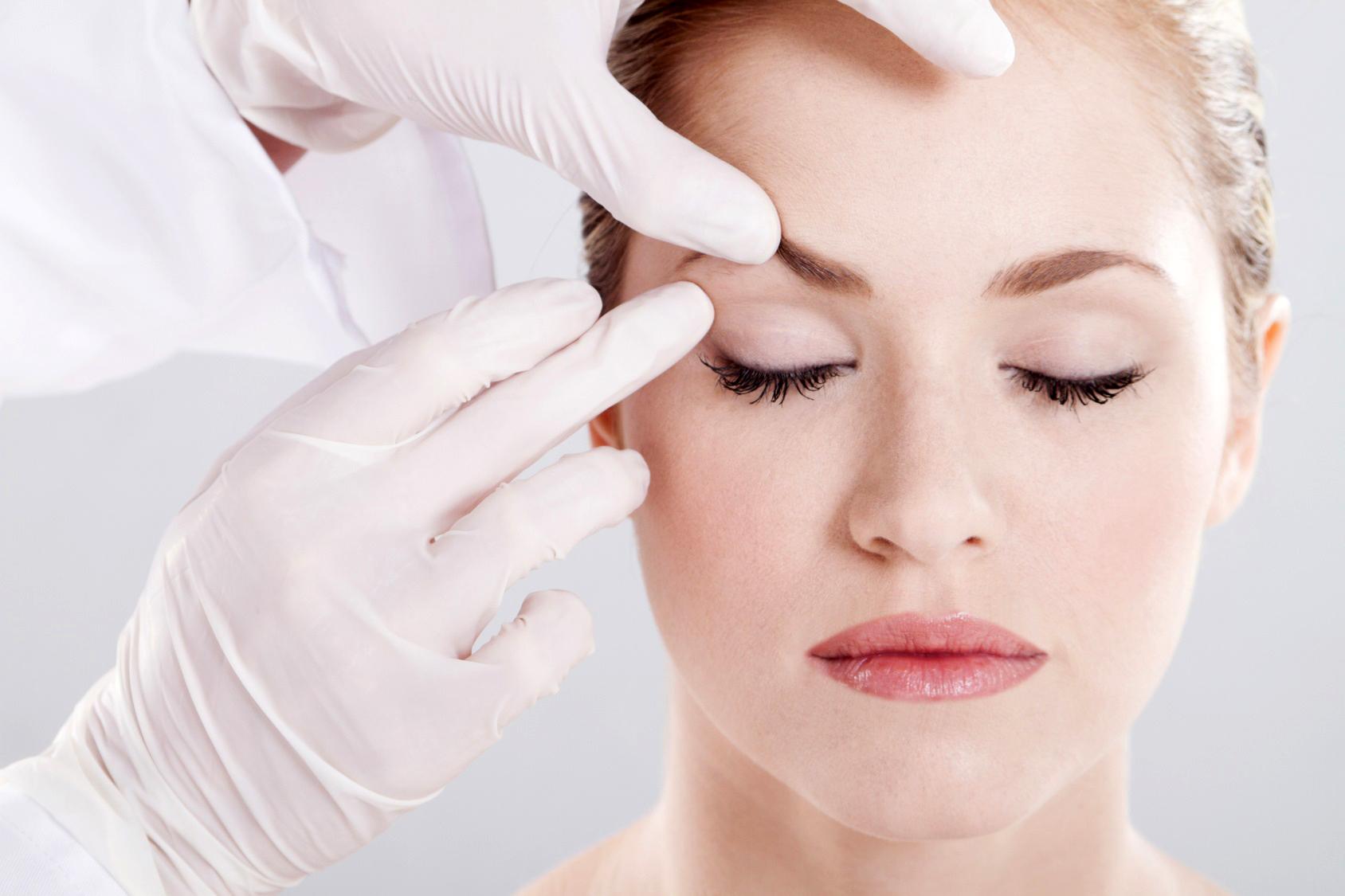 Блефаропластика морщин под глазами